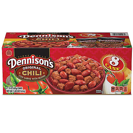 Dennison's Chili With Beans - 8/15 oz. cans