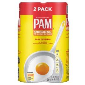 Pam Original Cooking Spray (12 oz., 2 ct.)