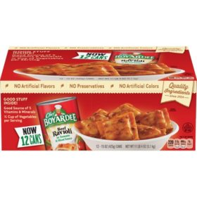 Chef Boyardee Beef Ravioli (15 oz. can, 12 pk.)