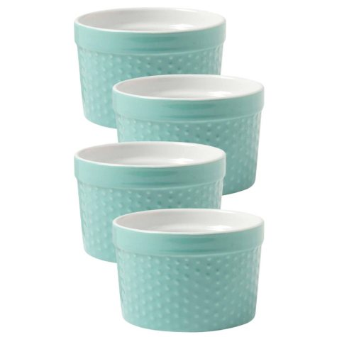 Now Designs Dotty Tall Ramekins, Set of 4