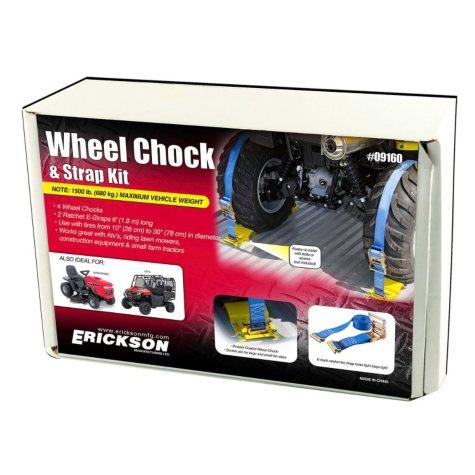Erickson ATV Wheel Chock and Tie-Down Kit