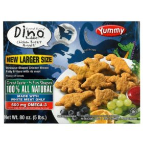 Dino Buddies Chicken Breast Nuggets (80 oz.)