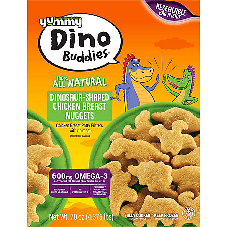 Yummy Dino Buddies Chicken Breast Nuggets (70 oz.)