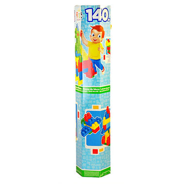 First Builders 140 Piece Tube of Blocks