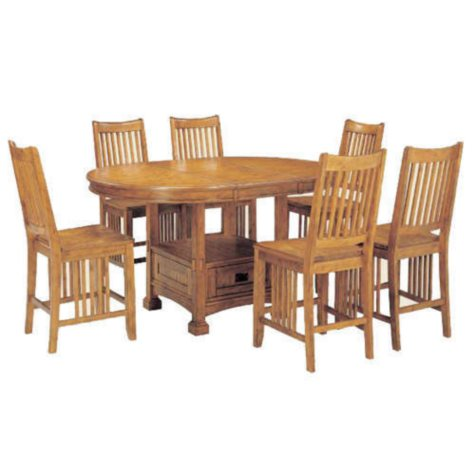 Mission Dining Set - 7 pc.