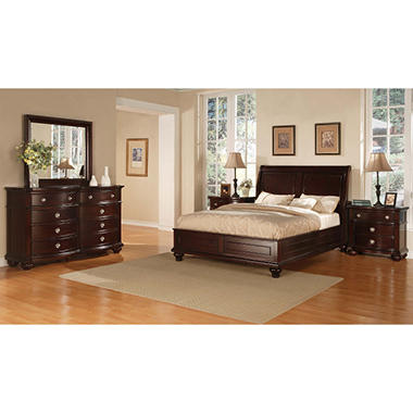 Lancaster Bedroom Set - King - 5 pcs. - Sam\'s Club