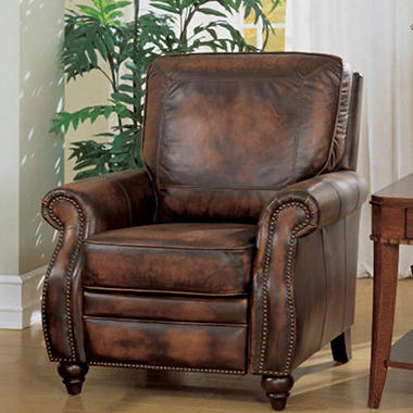 Maybury Top Grain Leather Recliner