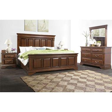 McAllen Bedroom Furniture 5-Piece Set, King - Sam\'s Club
