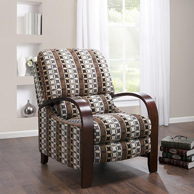 Peyton Bent Arm Recliner - Geometric