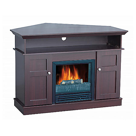 """Electric Fireplace with 42"""" Mantle TV Unit"""