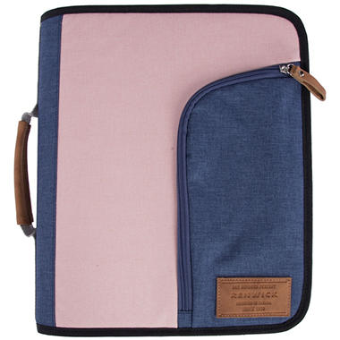 Renwick Zipper Binder - Select Color