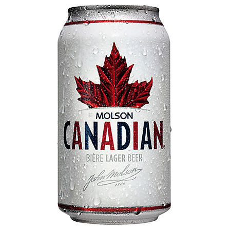 MOLSON CANADIAN 12 / 12 OZ CANS