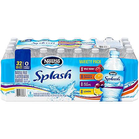 Nestle Splash Variety Pack (16.9oz / 32pk)