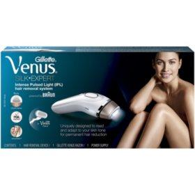 Gillette Venus Silk Expert IPL (Intense Pulsed Light), Powered by Braun, BD 5001
