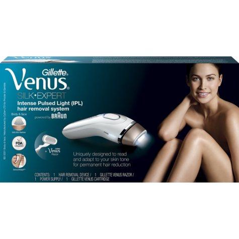 Venus Silk-Expert IPL 5001 (Intense Pulsed Light) Body Hair Removal System