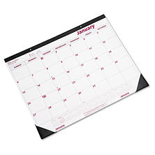 Brownline - Desk Pad/Wall Calendar, Chipboard, 22 x 17 -  2016
