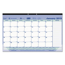 Brownline® Monthly Desk Pad Calendar, 17 3/4 x 10 7/8, 2018