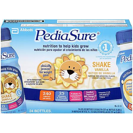 PediaSure Vanilla Shake - 8 fl. oz. - 24 pk.