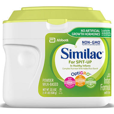 Similac For Spit-Up Infant Formula (23.20 oz., 6 pk.)