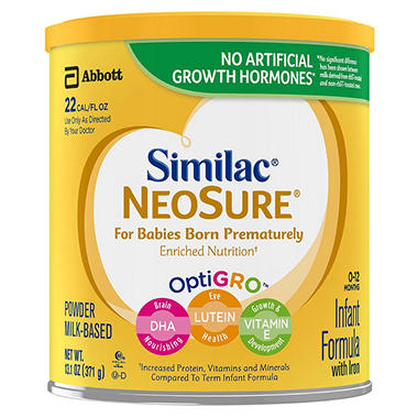 Similac Expert Care Neosure Infant Formula 13 1 Oz 6 Pk