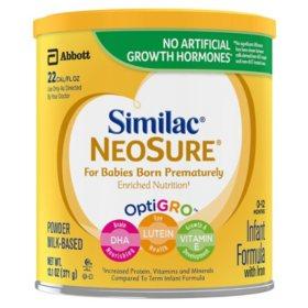 Similac Expert Care Neosure Infant Formula (13.1 oz., 6 pk.)
