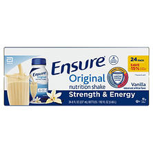 Ensure Original Nutrition Shake, Vanilla  (8 fl. oz., 24 ct.)