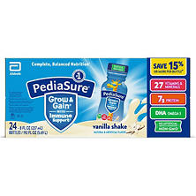 PediaSure Vanilla Shake - 8 oz. bottles - 24 pk.