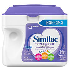 Similac Total Comfort Infant Formula (1.41 lb., 4 pk.)
