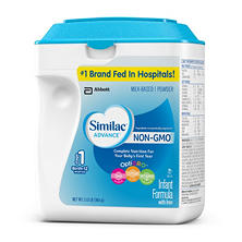 Similac Advance Non-GMO Stage 1 Infant Formula with Iron (34.08 oz.)