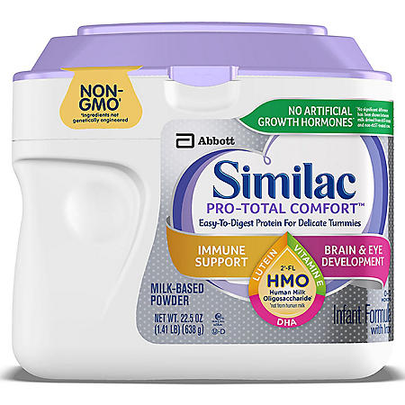 Similac Pro-Total Comfort Infant Formula (1.41 lb., 4-pack)