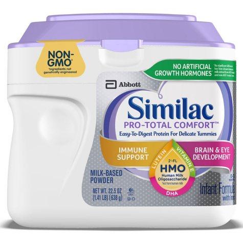 Similac Pro-Total Comfort Infant Formula (1.41 lb., 4-pack)