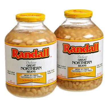 Randall™ Great Northern Beans - 2/48 oz. jars