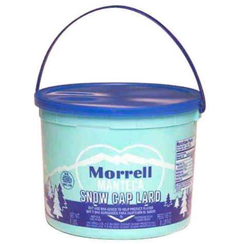 Morrell Snow Cap Lard - 8 lbs.