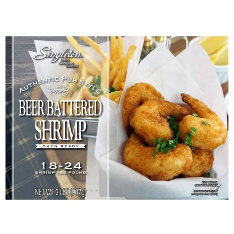 Singleton Pub-Style Beer-Battered Shrimp (2 lb.)