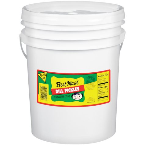 Best Maid Dill Pickles (5 gal., 90-110 ct.)