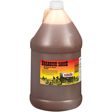 AUTHENTIC TX BBQ 1 GALLON