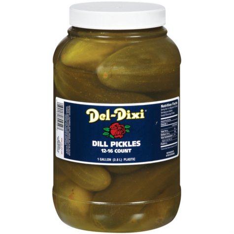 Del-Dixi Dill Pickles (1 gal.)