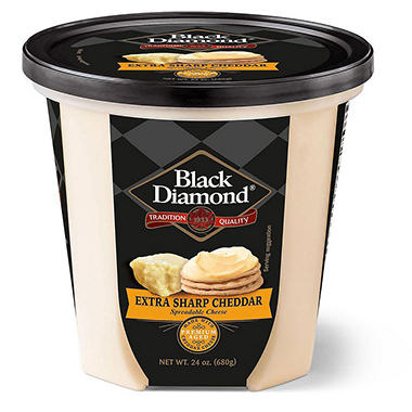 Black Diamond Extra Sharp Cheddar Spread (24 oz.)