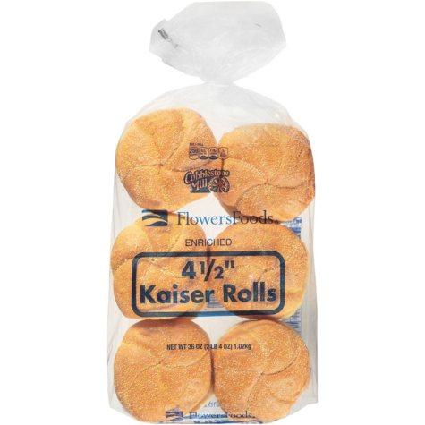Flowers Foods Kaiser Rolls (4.5 in., 12 ct.)