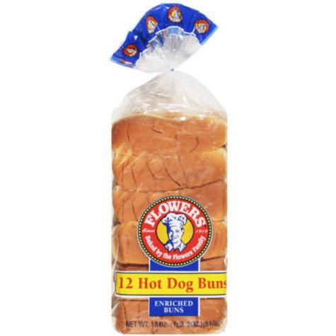 "Hot Dog Buns - 6"" - 12 ct."