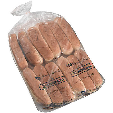 Flowers Foods Wiener Buns (60 oz., 24 ct.)