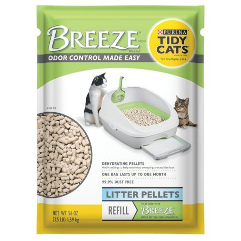 Purina Tidy Cats BREEZE Pellets Refill Cat Litter (3.5 lb. Pouch)