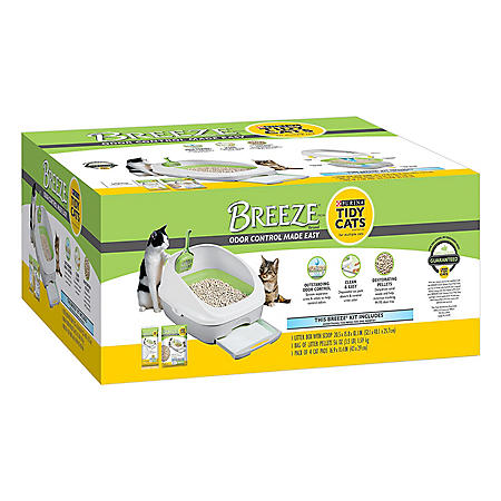 Purina Tidy Cats BREEZE Cat Litter System Starter Kit