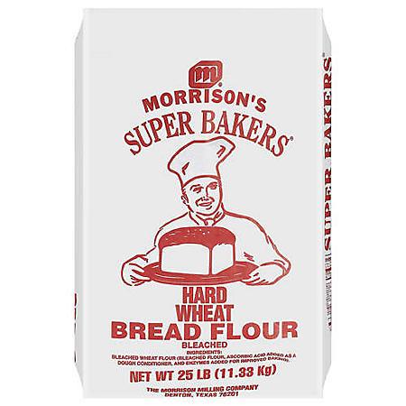 Morrison's® Super Bakers® Bread Flour - 25lbs