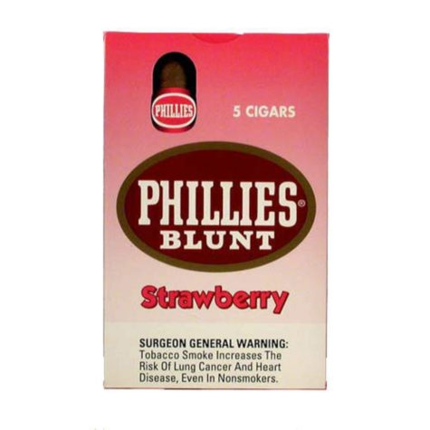 Phillies Blunt Cigars Strawberry - 50 ct.