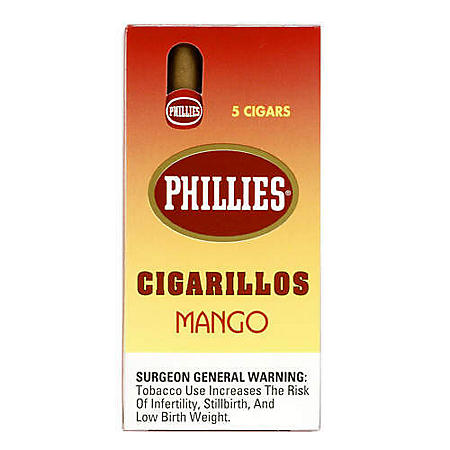 Phillies Strawberry Cigarillos 6/5 Pack