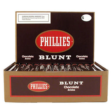 Phillies Blunt Cigars Chocolate Aroma Box - 50 ct.