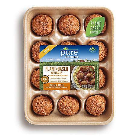 Pure Farmland Plant Based Italian Style Meatballs (12 ct.)