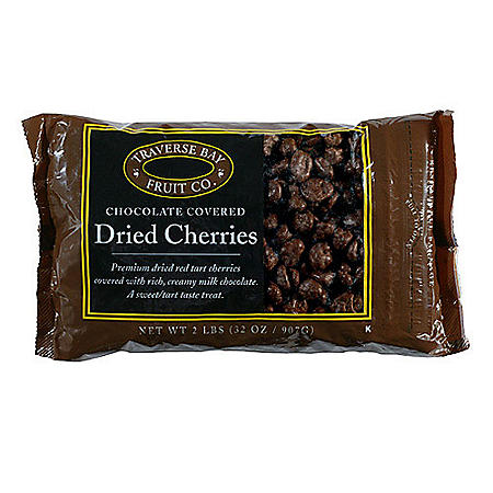 Traverse Bay Chocolate-Covered Dried Cherries