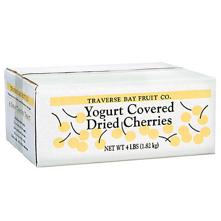 Yogurt Covered Dried Cherries (4 lbs.)